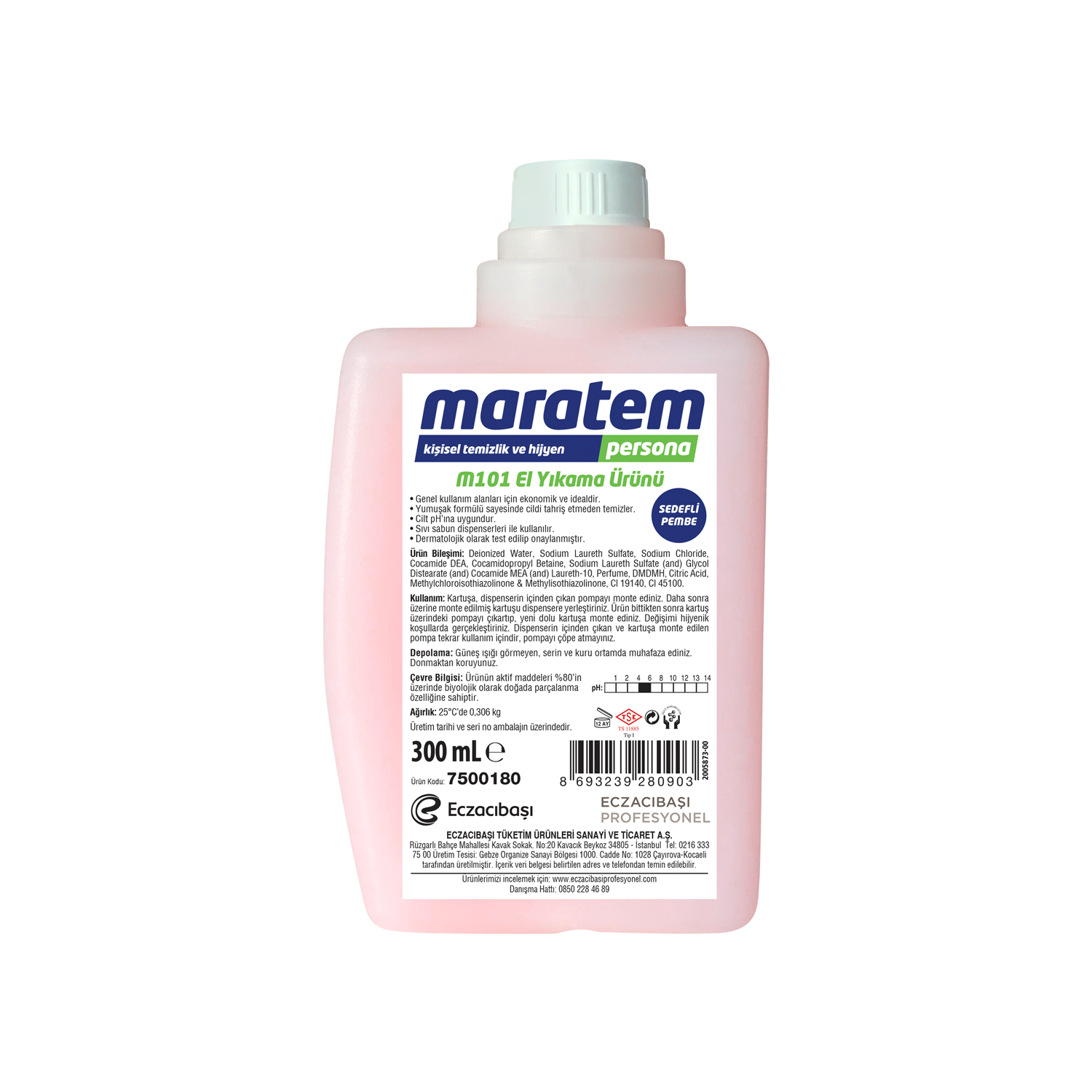 M101 Liquid Hand Wash - Nacreous White
