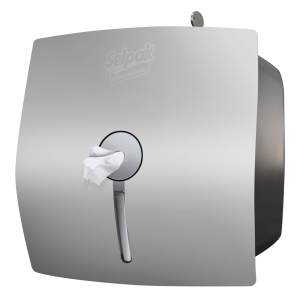 Selpak Professional Center Feed Toilet Paper Dispensers- Gray